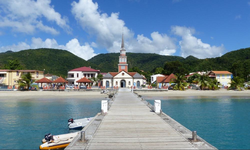 Sélection des meilleurs mouillages en Martinique